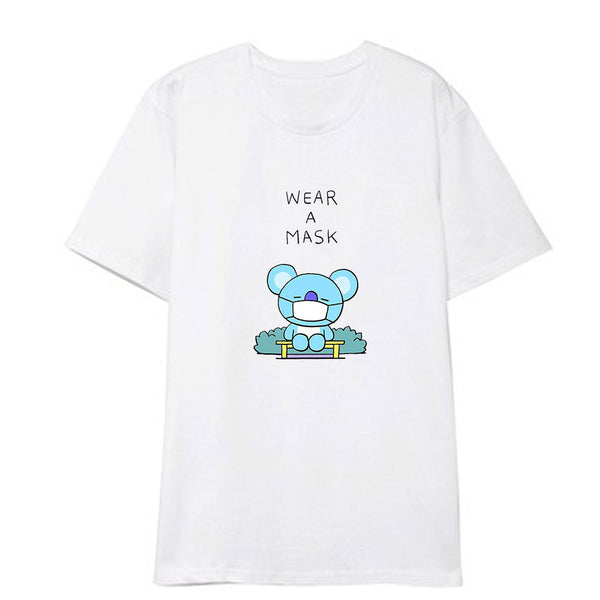 BT21 X Short Sleeve T-shirt - BT21 Store | BTS Online Shop