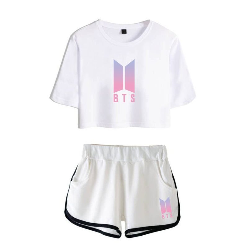 BTS T-shirt Shorts Suit - BT21 Store | BTS Online Shop