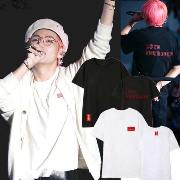 BT21 X Love Yourself Short Sleeve T-shirt - BT21 Store | BTS Shop