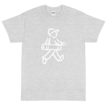 Load image into Gallery viewer, Walking Man - Does Yoga - Short Sleeve T-Shirt