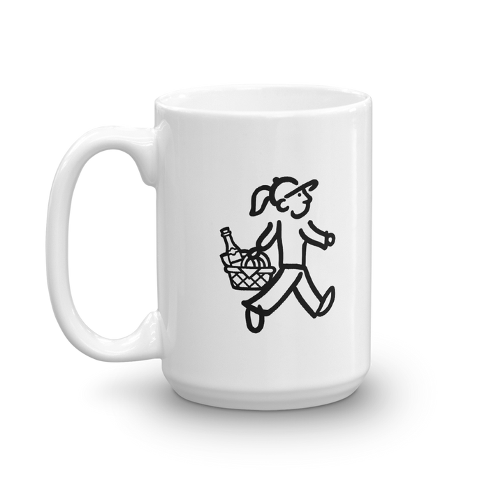 WalkingGal - Picnic Time - Coffee Mug