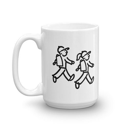 WalkingCouple - Take A Hike - Coffee Mug