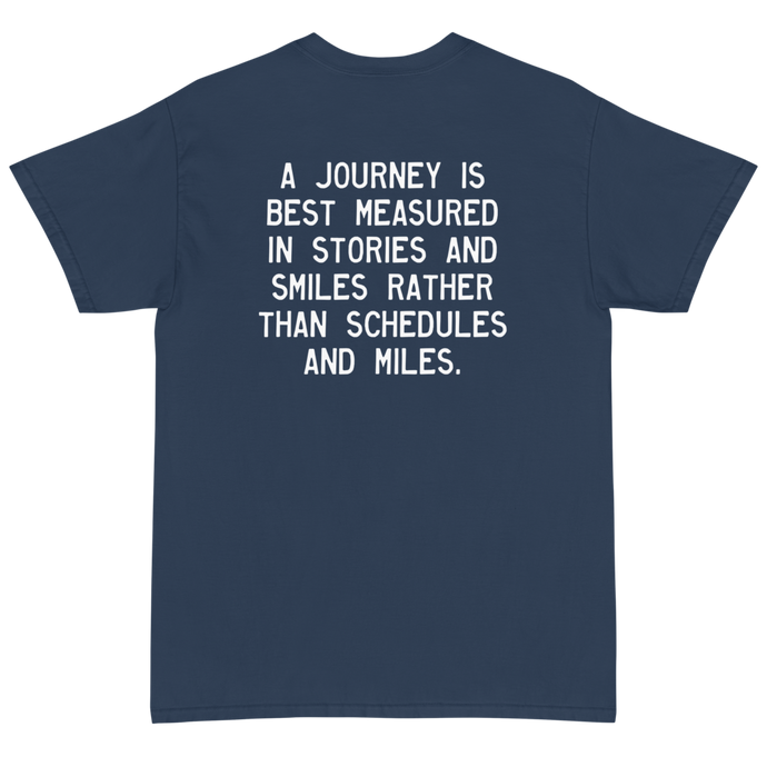 Quote #49 - Walking Man - Short Sleeve T-Shirt
