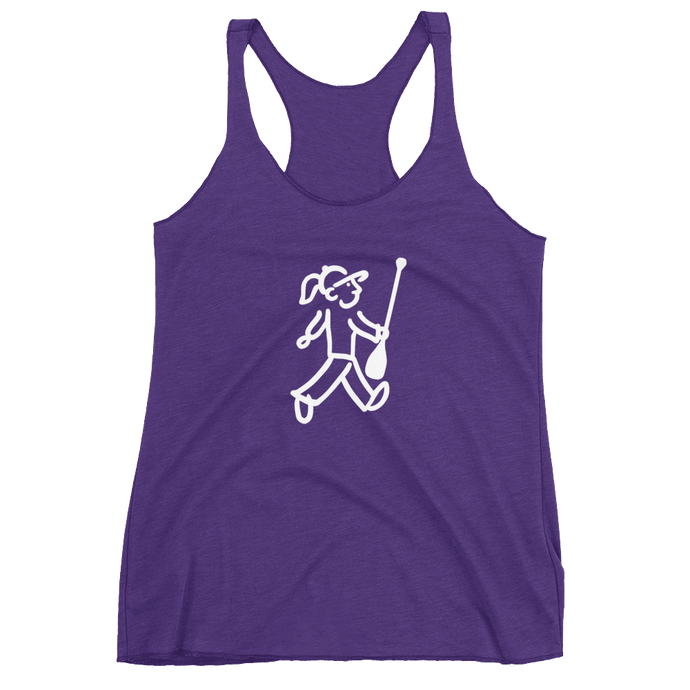 Walking Gal - Paddle Power - Women's Racerback Tank