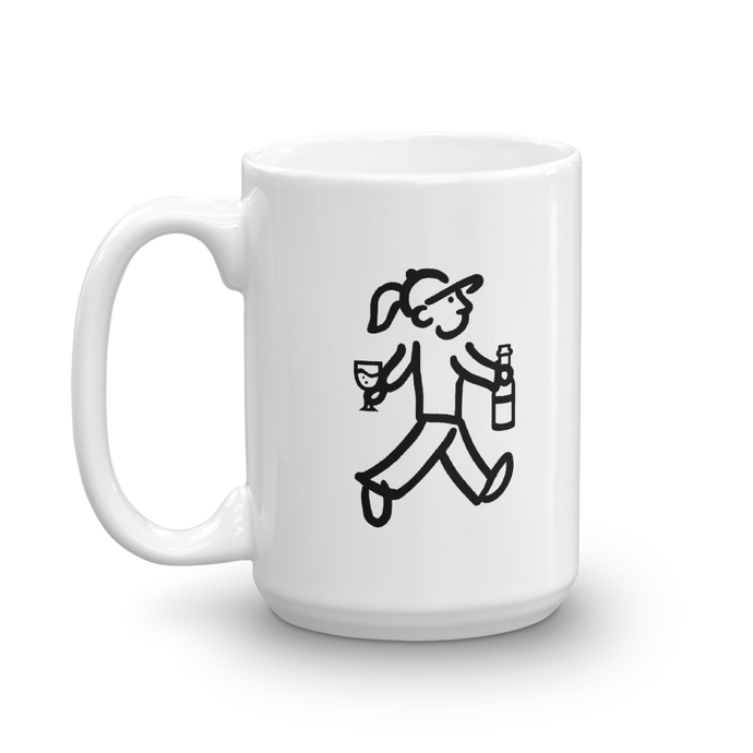 WalkingGal - Happy Hour - Coffee Mug