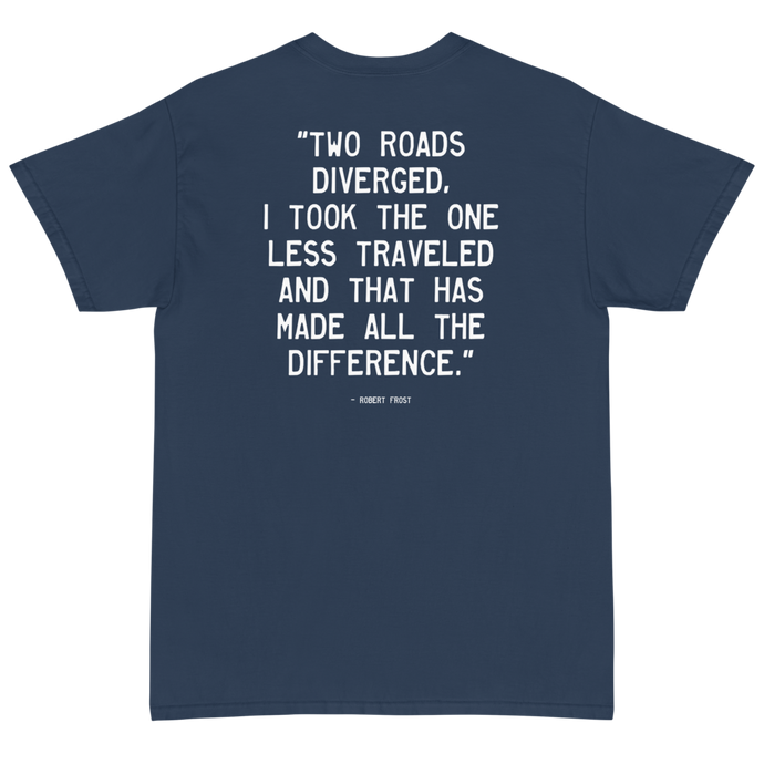 Quote #50 - Walking Man - Short Sleeve T-Shirt