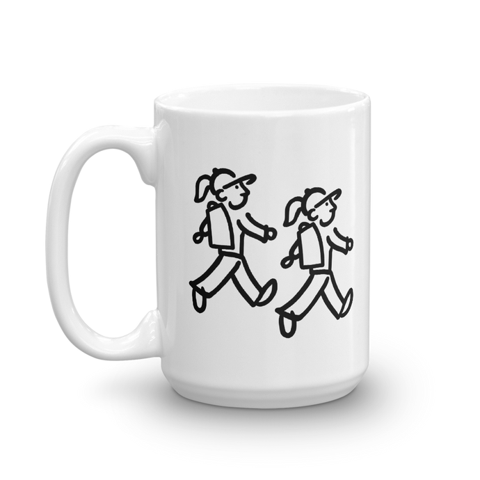 WalkingFriends - Take A Hike - Coffee Mug