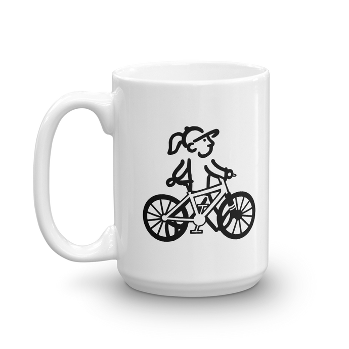 WalkingGal - Bicycle Ride - Coffee Mug