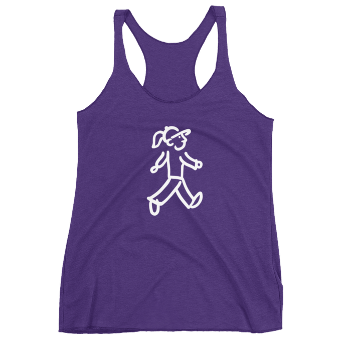 Walking Gal - Goes Walking - Women's Racerback Tank
