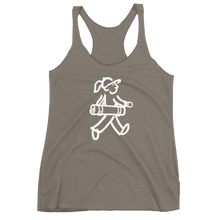 Load image into Gallery viewer, Walking Gal - Goes to Yoga - Women's Racerback Tank