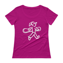 Load image into Gallery viewer, Ladies' Scoopneck T-Shirt