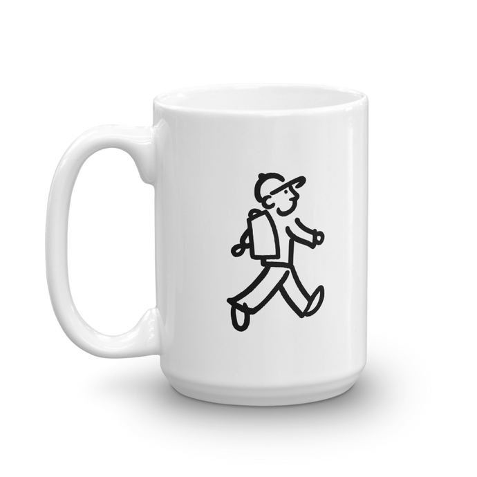 WalingMan - Takes a Hike - Coffee Mug