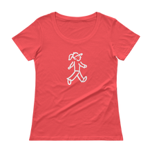 Load image into Gallery viewer, Quote #50 - WalkingGal - Ladies' Scoopneck Quote Shirt
