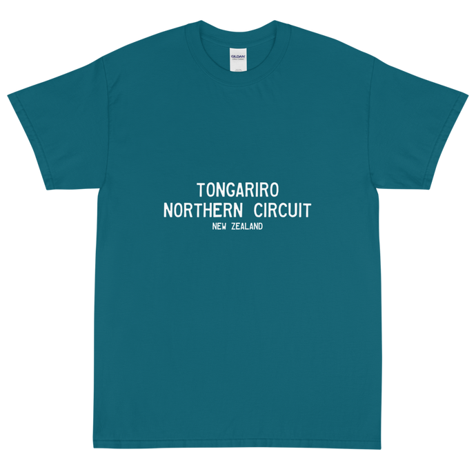 NZ Great Walks - #058 - Short Sleeve T-Shirt