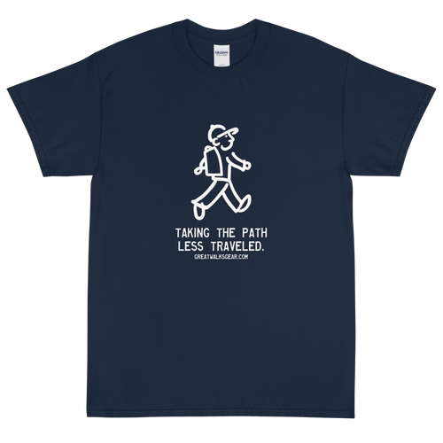 Walking Man - Logo Wear - Short Sleeve T-Shirt