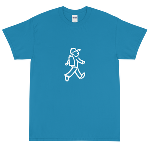 Quote #07 - Walking Man - Short Sleeve T-Shirt