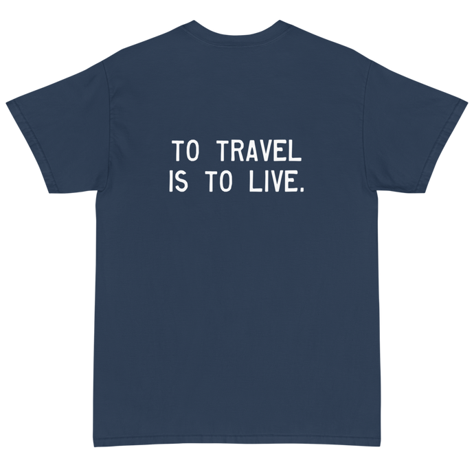 Quote #40 - Walking Man - Short Sleeve T-Shirt