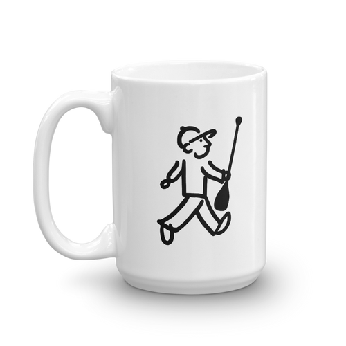 WalkingMan - Paddles his SUP - Coffee Mug
