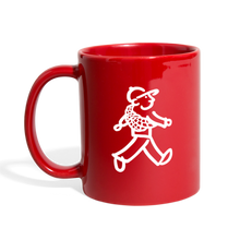 Load image into Gallery viewer, WalkingMan - Goes Climbing - Full Color Mug - red