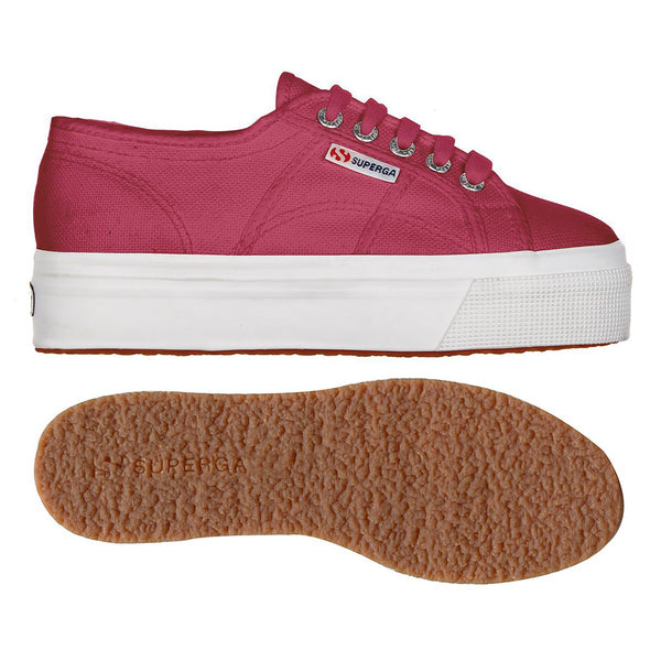 Superga Perú 2790 ACOTW LINEA UP AND DOWN Red Azalea