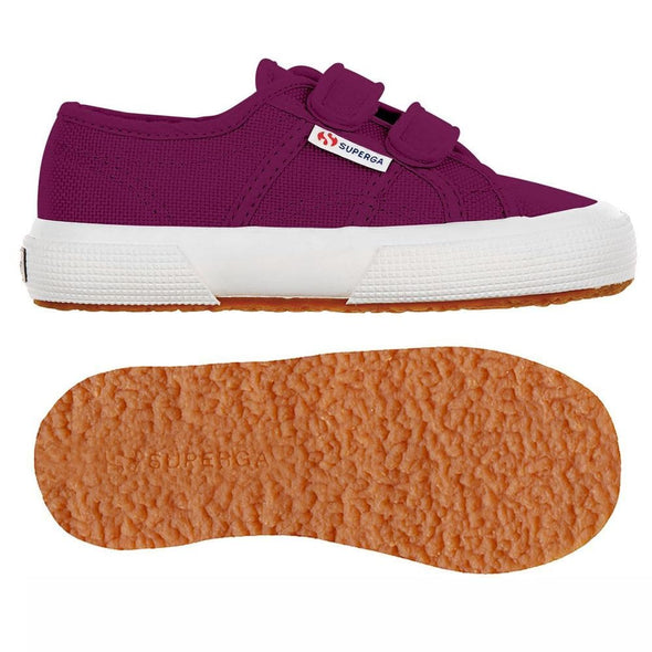 Superga Perú 2750 JVEL Classic Red Magenta Purple
