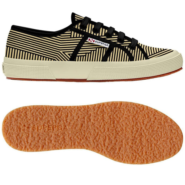Superga Perú 2750 FANTASY COTU Optical Stripes