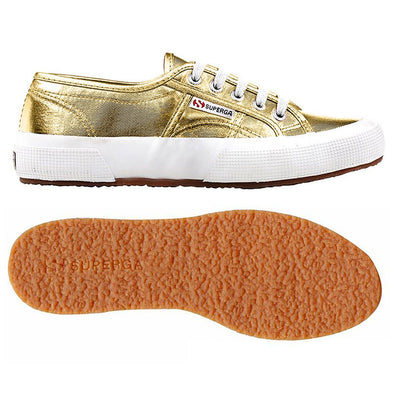 Superga Peru 2750 COTMETU Yellow Gold