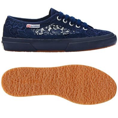 Superga Peru 2750 MACRAMEW Blue Navy