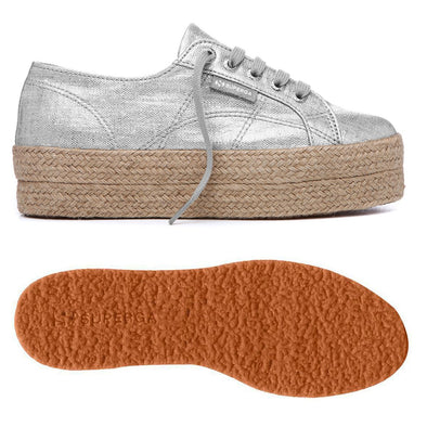 Superga Perú 2790 LINRBRROPEW Grey Silver