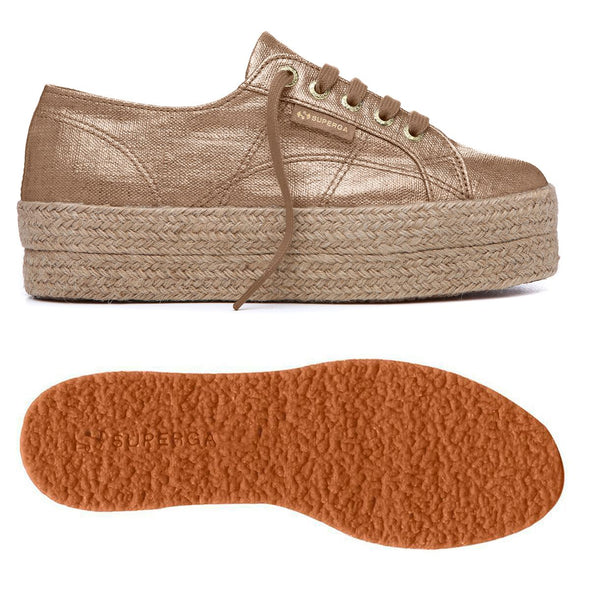Superga Perú 2790 LINRBRROPEW Brown Toffee