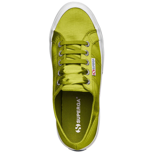 Superga Peru 2750 SATINW Green Lime
