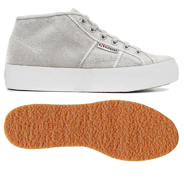 Superga Perú 2578 COTU Grey Seashell