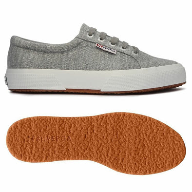 Superga Perú 2750 COTJERSEYGLITTERW Light Grey
