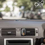 Godrej aer click, car vent air freshener kit <span class='musk'>musk after smoke 10g</span>