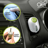 Godrej aer click, car air freshener refill pack <span class='lush-green'>fresh lush green 10g</span>