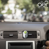 Godrej aer click, car vent air freshener kit <span class='lush-green'>fresh lush green 10g</span>