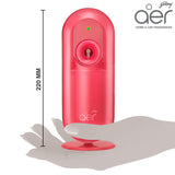 Godrej aer matic, automatic air freshener kit with flexi control <span class='petal'>petal crush pink 225ml</span>
