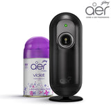 Godrej aer matic, automatic air freshener kit with flexi control <span class='violet'>violet valley bloom 225ml</span>