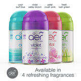 Godrej aer matic, automatic air freshener refill pack <span class='violet'>violet valley bloom 225ml</span>
