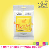 Godrej aer pocket, bathroom air fragrance <span class='bright-tangy'>bright tangy delight 10g</span>