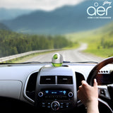 Godrej aer twist, car air freshener <span class='lush-green'>fresh lush green 45g</span>