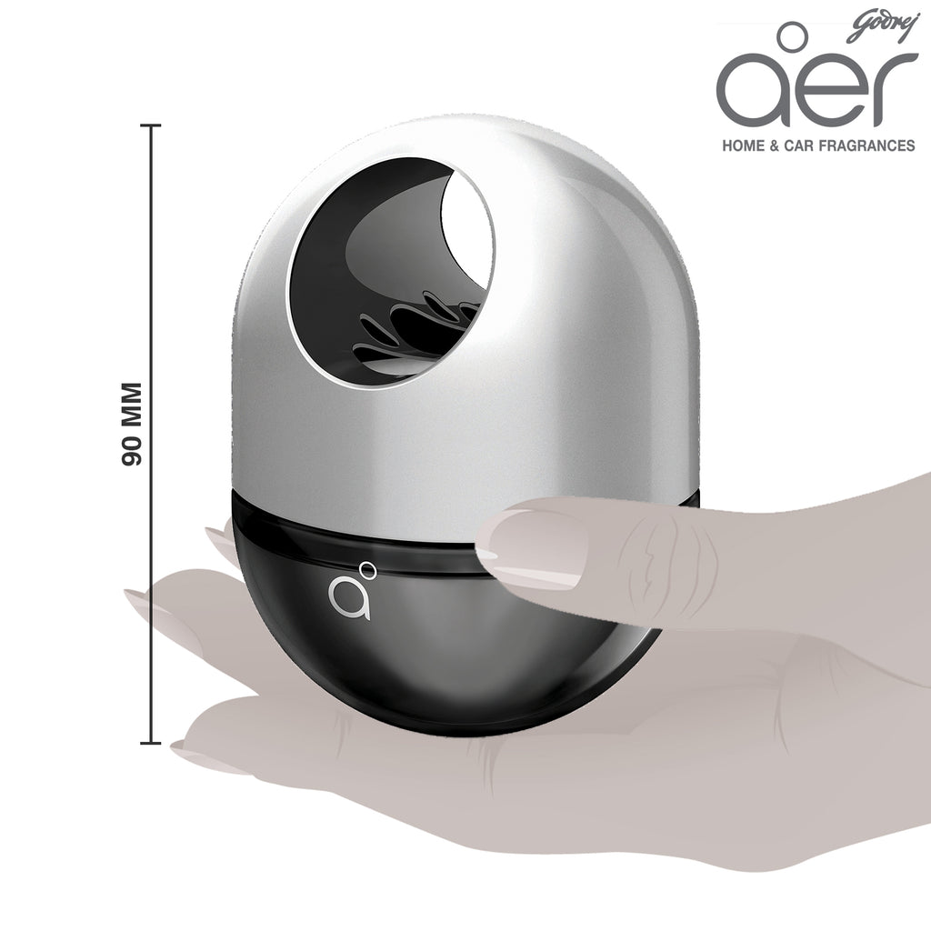 Godrej aer twist, car air freshener <span class='musk'>musk after smoke 45g</span>