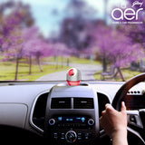 Godrej aer twist, car air freshener <span class='petal'>petal crush pink 45g</span>
