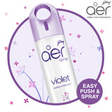 Godrej aer spray, home & office air freshener <span class='violet'>violet valley bloom 240ml</span>