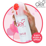 Godrej aer spray, home & office air freshener <span class='petal'>petal crush pink 240ml</span>