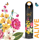 Godrej aer spray, premium air freshener for home & office <span class='alive'>alive 240ml</span>