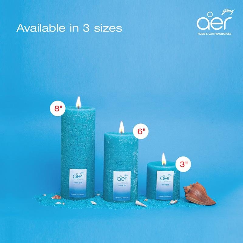 "Godrej aer scents candles <span class='ocean-breeze'>ocean breeze 8""</span>"