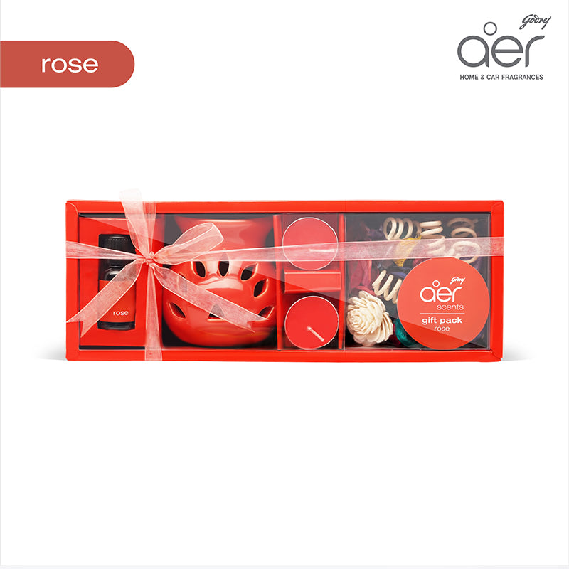 Godrej aer scents gift pack <span class='rose'>rose</span>