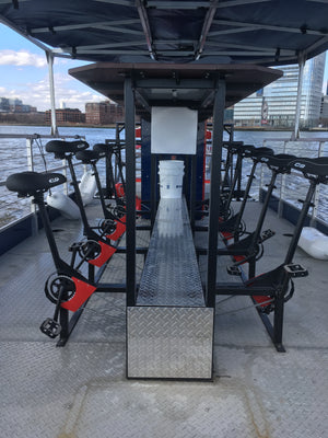 NYC Cycleboats Boat Tour - Exercise
