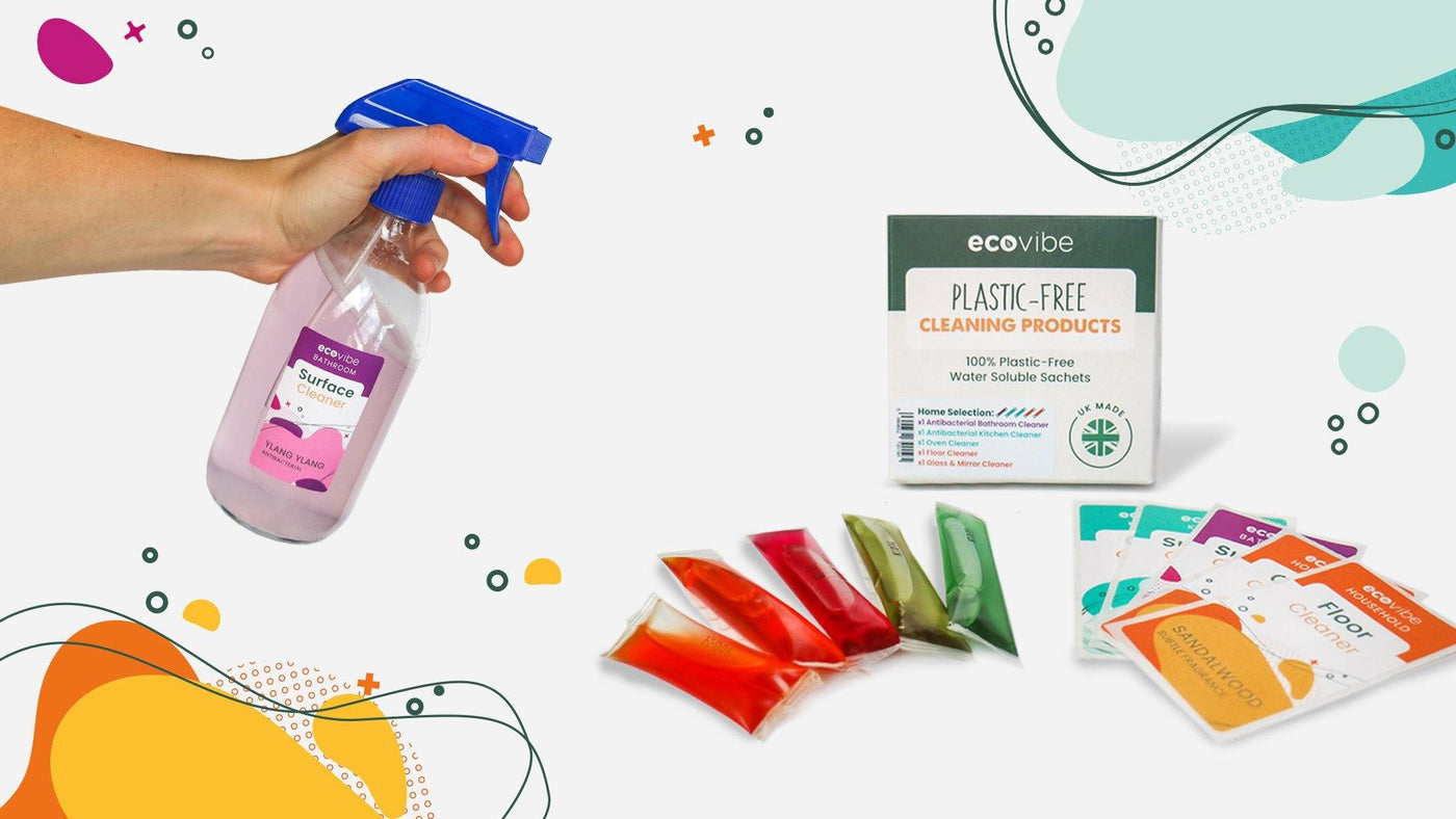 Introducing! EcoVibe's Plastic-Free Cleaning Sachets - EcoVibe